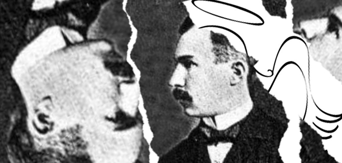 """Adolphe Chaillet inventor de la """"bombilla centenaria""""."""