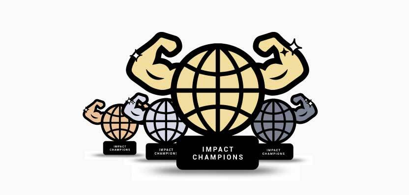 Úrovne Impact Champions