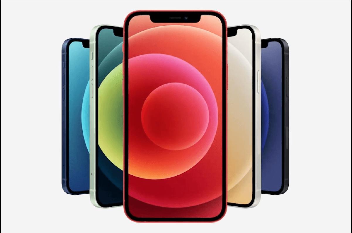 El iPhone 12 comparado con los modelos anteriores.
