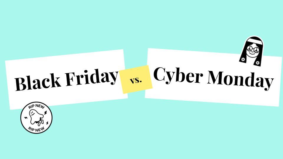 Black Friday Oder Cyber Monday Was Ist Der Unterschied