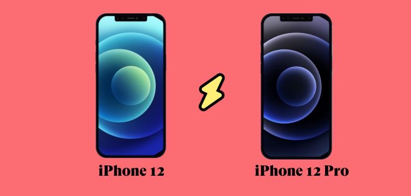 iphone 12 versus 12 pro