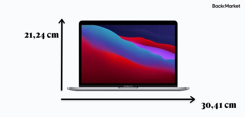 macbook pro 2020 m1 größe