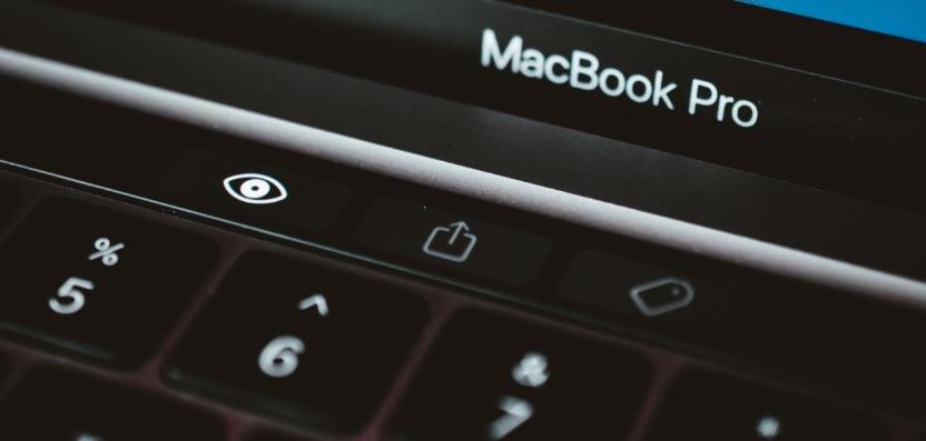 macbook pro 2020 m1 touchbar