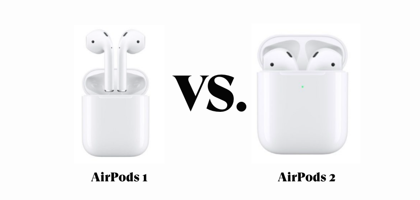 airpods 1 vs airpods 2