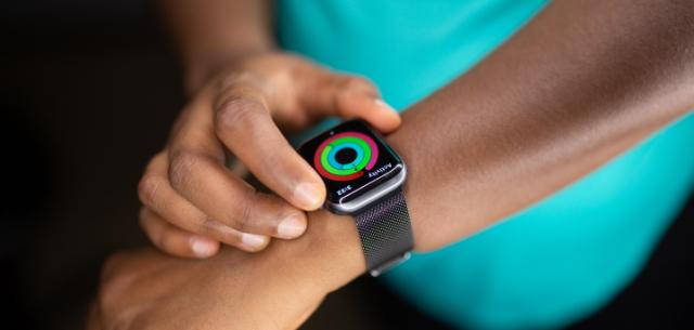 ringe der apple watch als motivation
