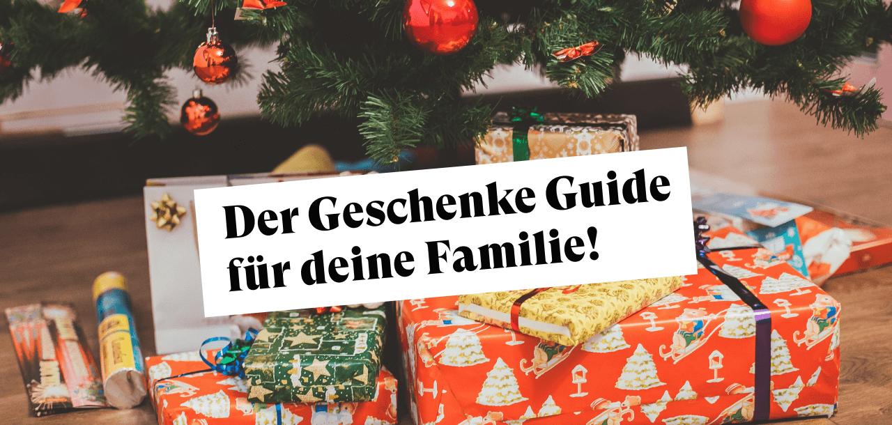 weihnachten geschenk für die ganze Familie