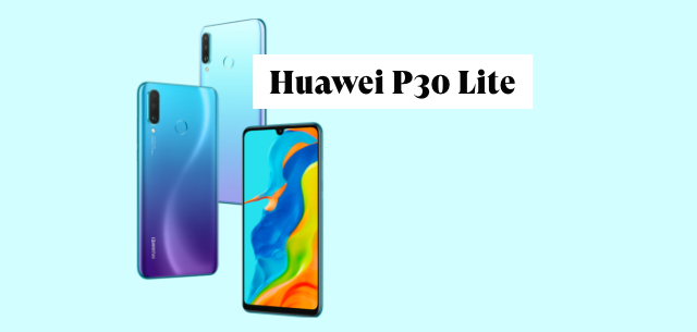 Huawei P30 Lite Test