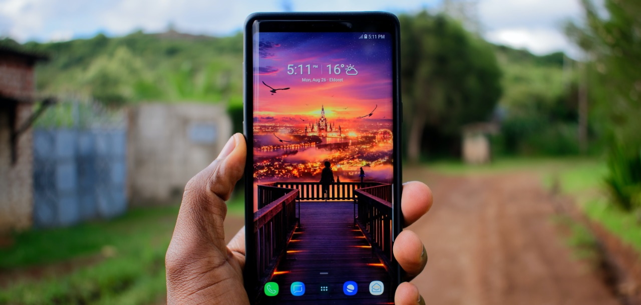 Samsung Galaxy Note 9 Bildschirm