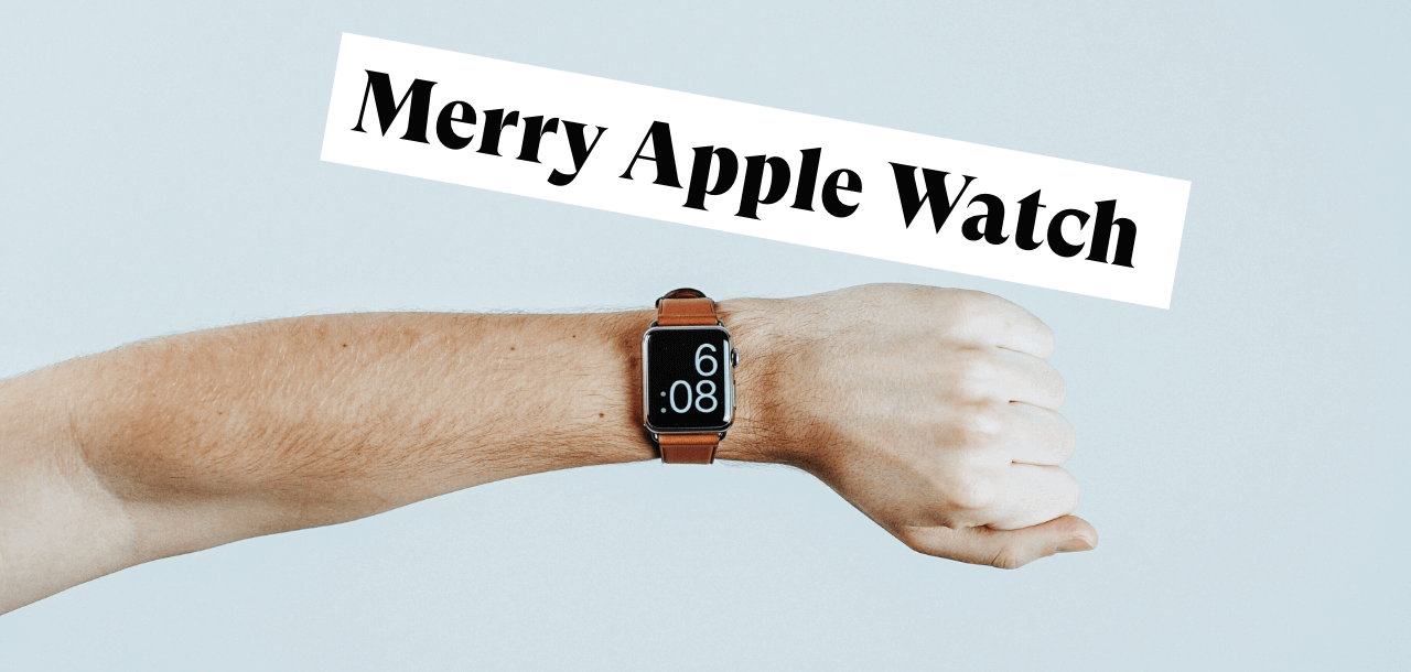 Weihnachten welche Apple Watch