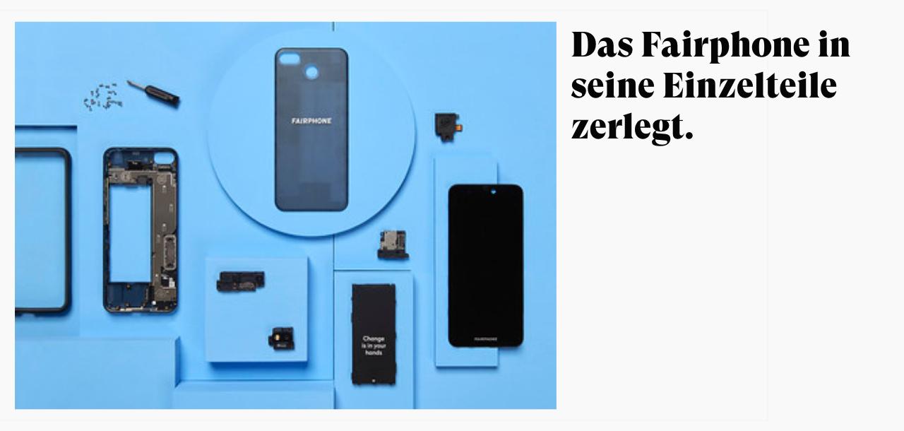 fairphone einzelteile
