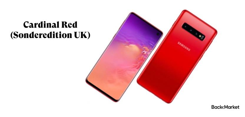 Cardinal Red UK Version Samsung Galaxy S10