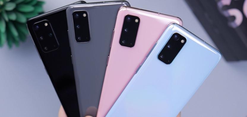 Samsung Galaxy S20 Modellvergleich