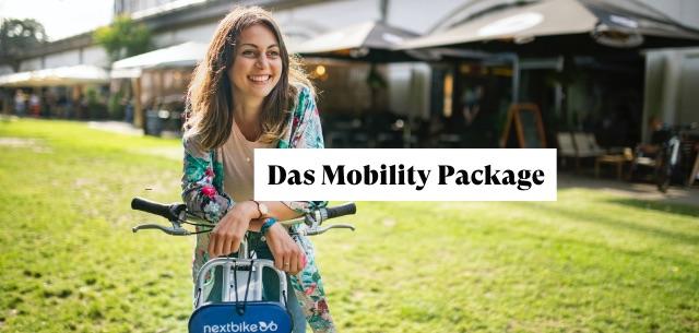 Nextbike Kooperation zum Mobility package