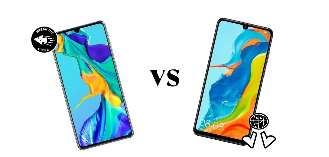 comparativa Huawei P30 vs P30 Lite