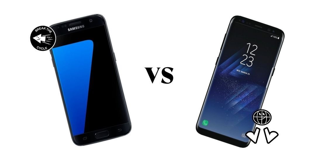 diferencia entre galaxy s7 edge vs s8