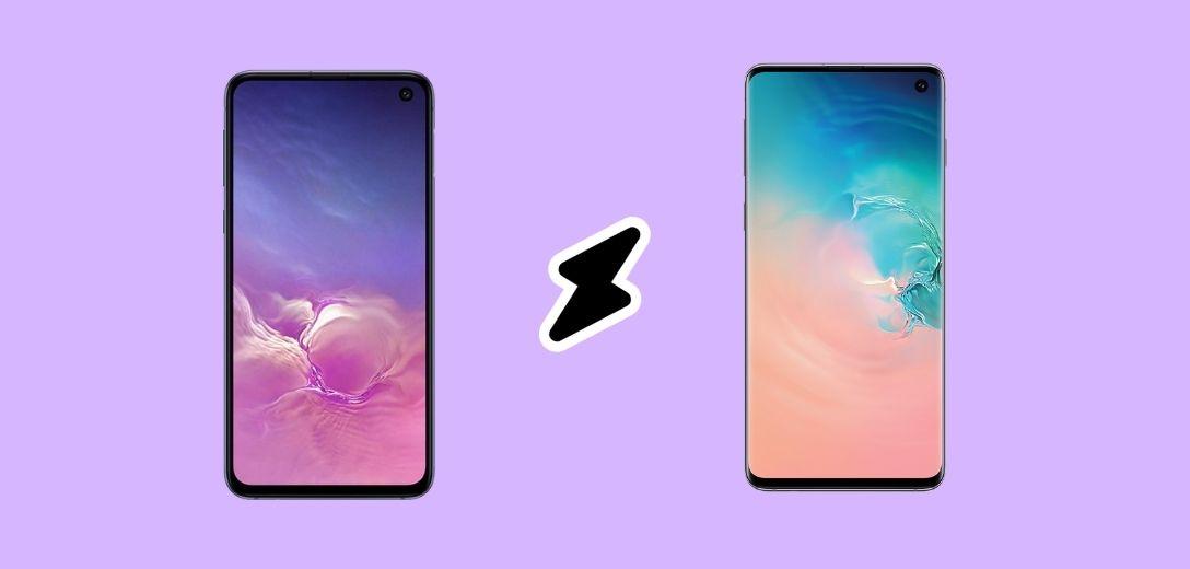 Galaxy S10 vs S10e