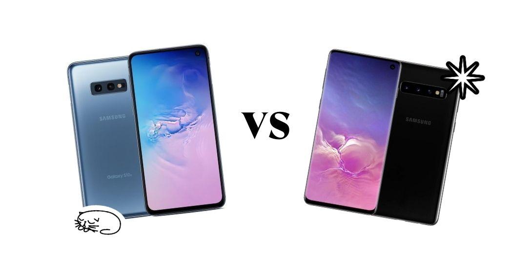 Wahl Samsung Galaxy S10 und S10e