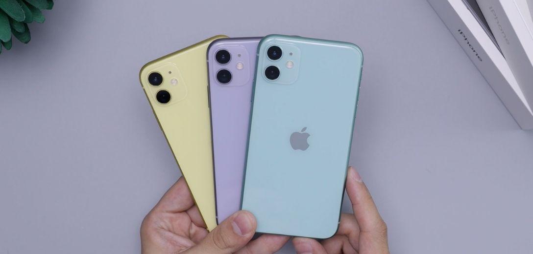 iPhone 11 Farben