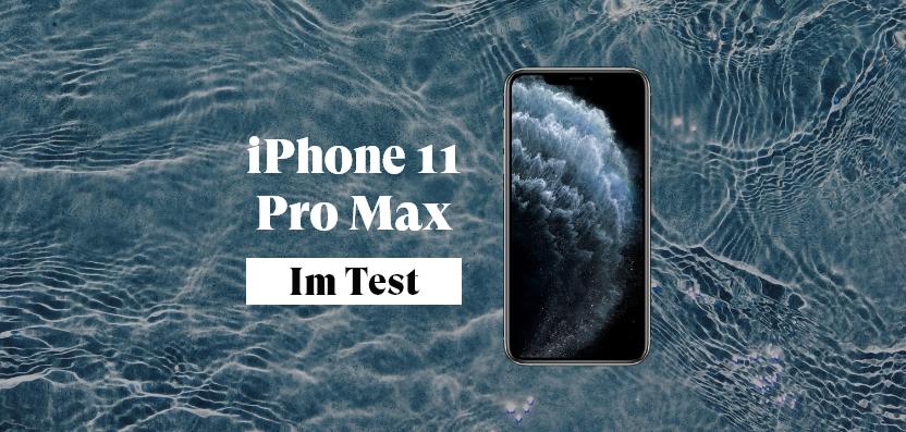 Das iPhone 11 Pro Max
