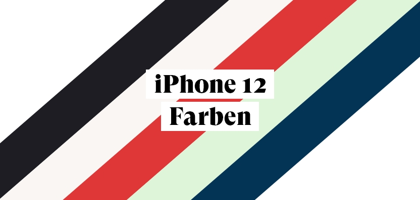 iPhone 12 alle Farben