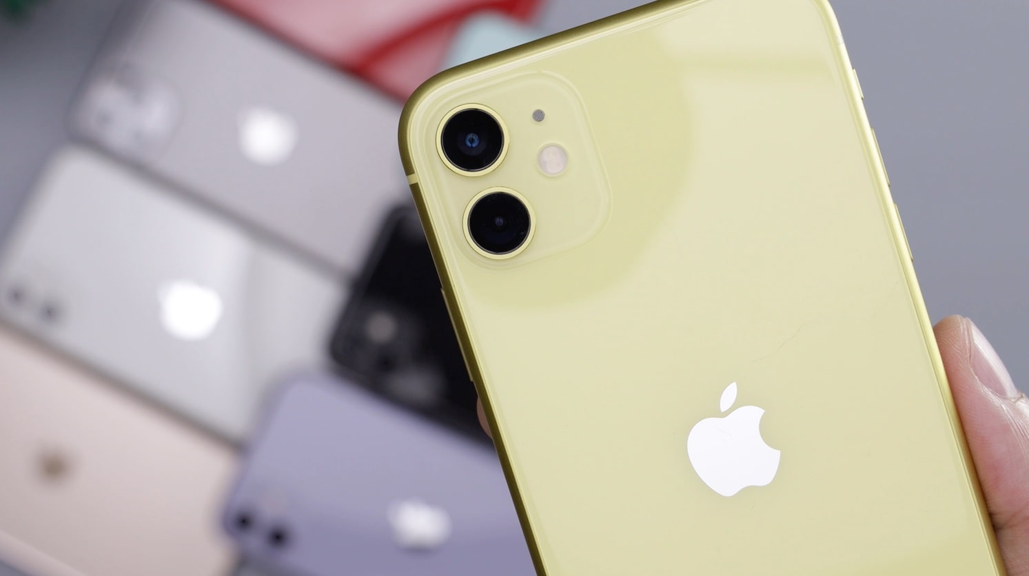 couleur iphone 11 jaune