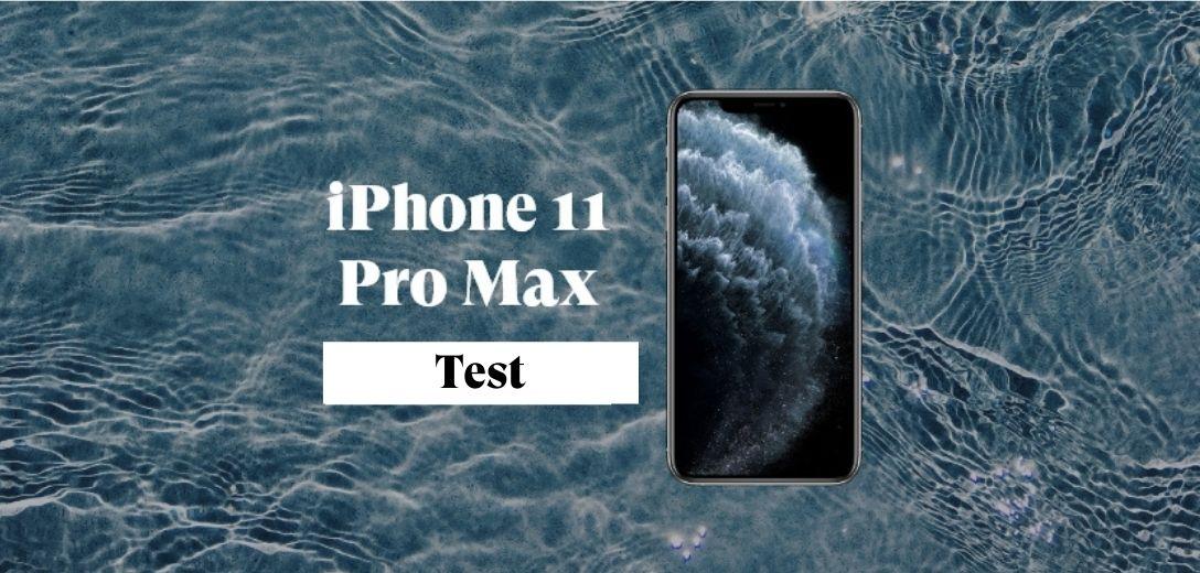 iphone 11 pro max test