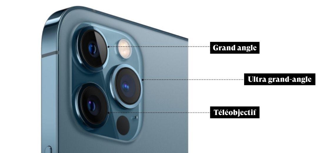 iphone 12 pro max appareil photo