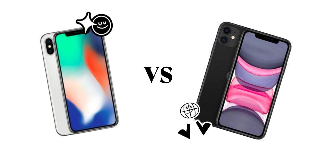 Vergleich iPhone 11 versus iPhone X