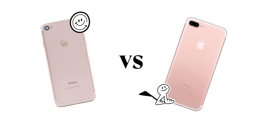 iPhone 7 vs iPhone 7 plus wahl