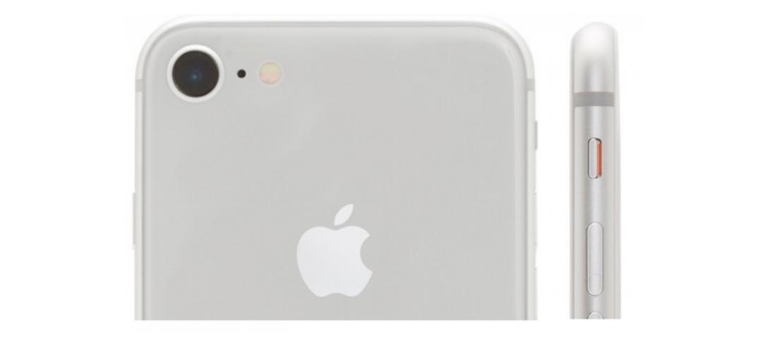 Iphone 8 oberer Part
