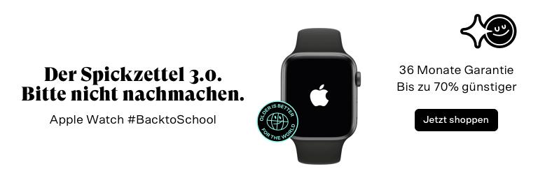 Back to school - apple watch