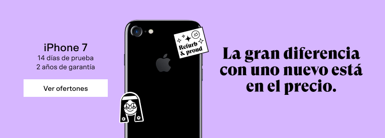 iPhone 7 reacondicionados - Back Market