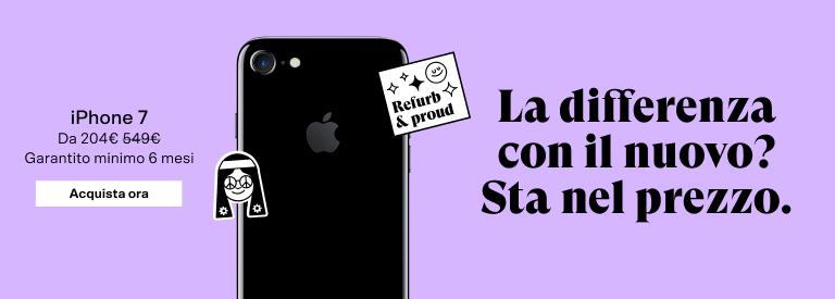 iPhone 7 ricondizionati - Back Market