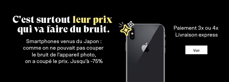 Smartphone Japonais