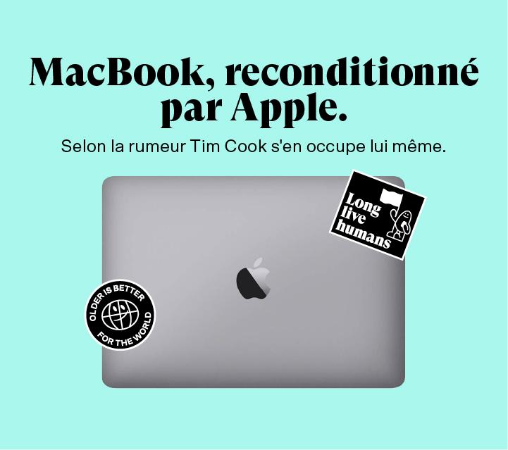 Macbook reconditionné par Apple