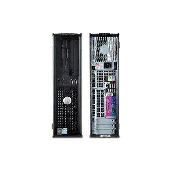 """Dell OptiPlex 330 DT 22"""" Core 2 Duo 1,8 GHz - HDD 500 Go - 2 Go"""