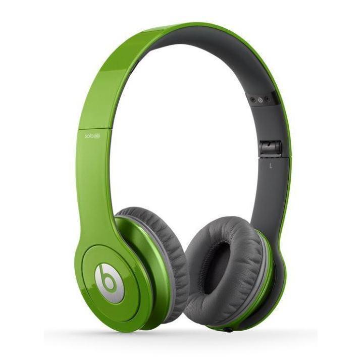 Kopfhörer Rauschunterdrückung mit Mikrophon Beats By Dr. Dre Solo HD - Grün/Grau