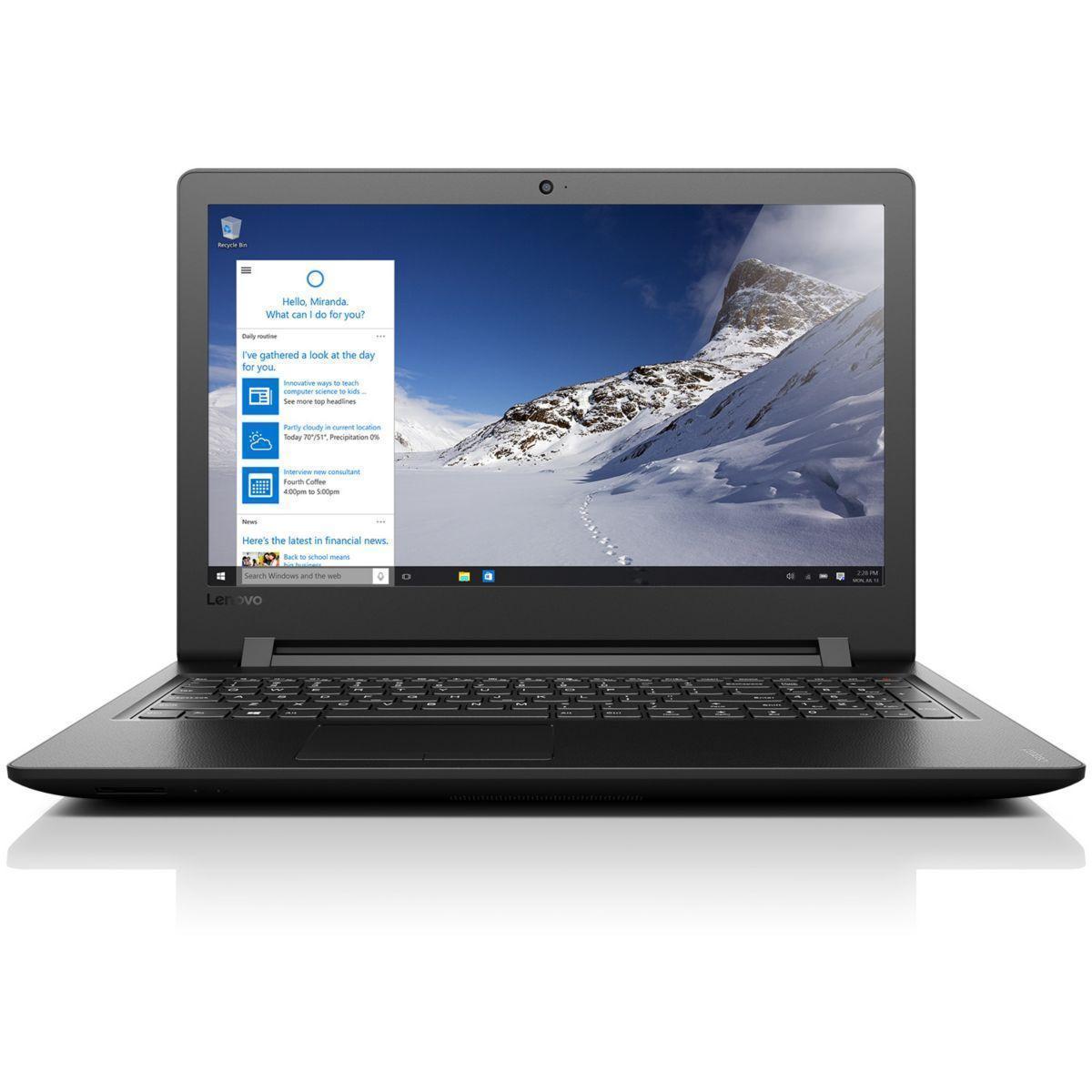 "Lenovo Ideapad 110-15ACL-QFR 15,6"" () - A6-7310 - 8GB - HDD 1 TO AZERTY - Francúzska"
