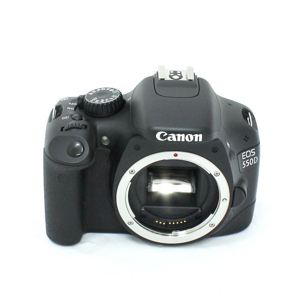 Canon EOS 550D Reflex 18 - Preto