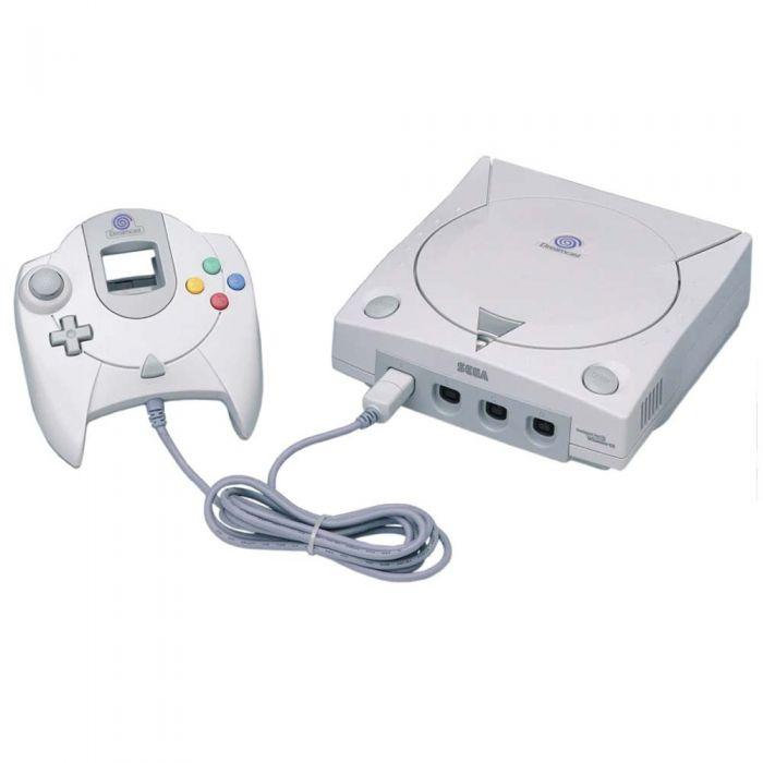 Sega Dreamcast - HDD 0 MB - Blanco