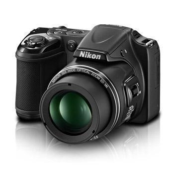 Puolijärjestelmäkamera Nikon Coolpix L820 Musta + Objektiivi Nikon NIKKOR 30x Optical Zoom 22.5-675 mm f/3-5.8