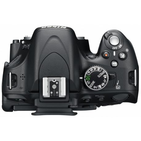 Reflexcamera - Nikon D5100 zonder lens - Zwart
