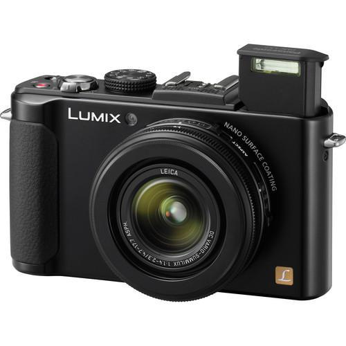 Compact - Panasonic Lumix DMC-LX7 Noir Leica Leica DC Vario-Summilux 24-90 mm f/1.4-2.3