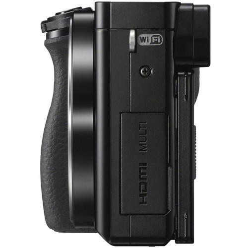 Hybride camera Sony a6000 alleen behuizing - Zwart