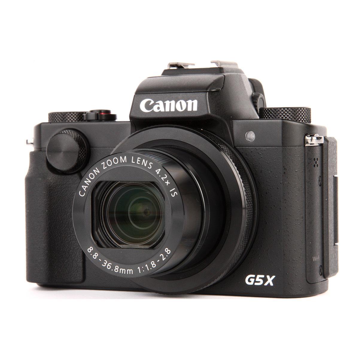 Compact Canon PowerShot G5X - Musta + Objektiivi Canon 24-100mm f/1.8-2.8