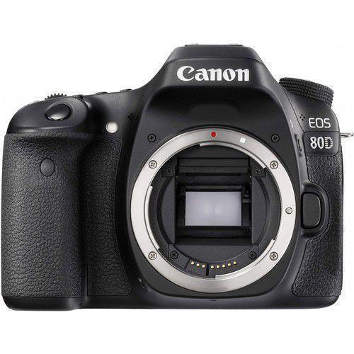 Canon EOS 80D Zrkadlovka 24 - Čierna