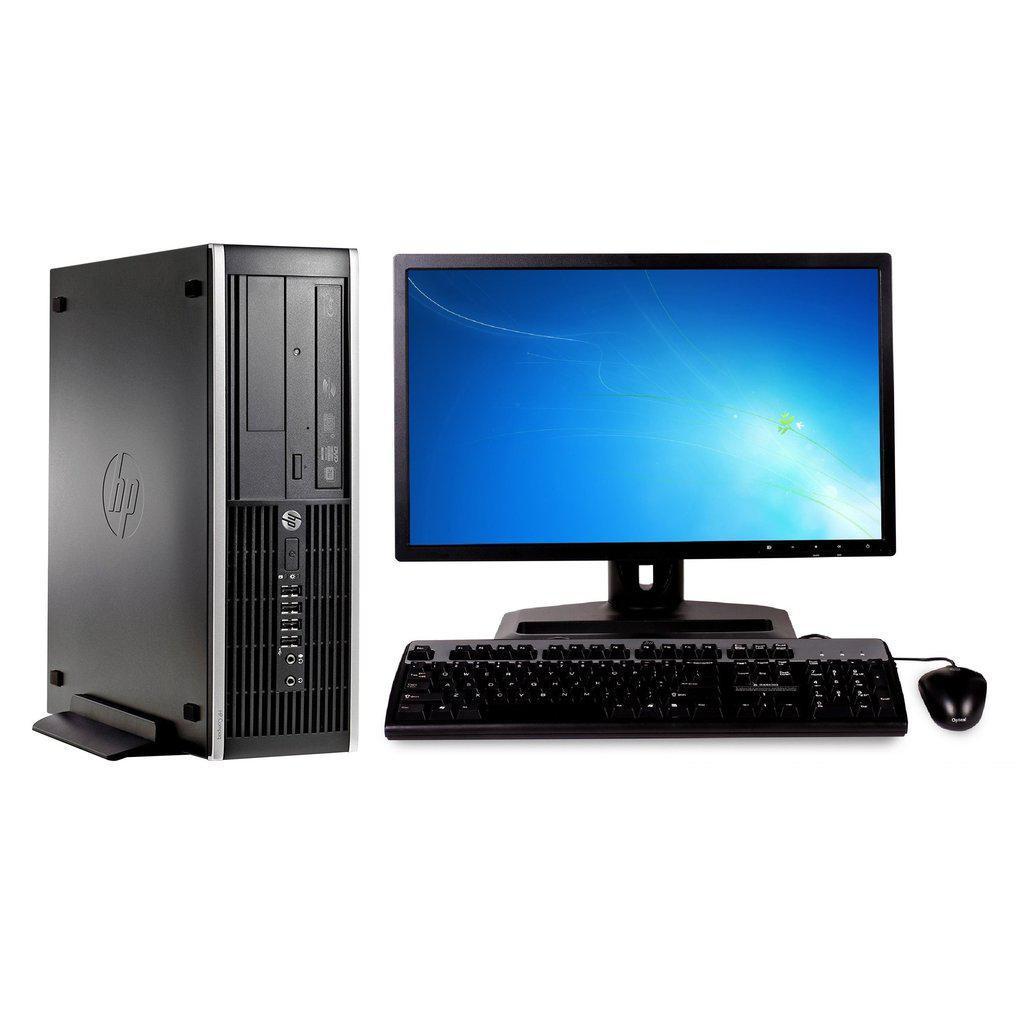 "Hp Compaq Elite 8300 SFF 19"" Core i5 3,2 GHz - HDD 500 GB - 8GB"