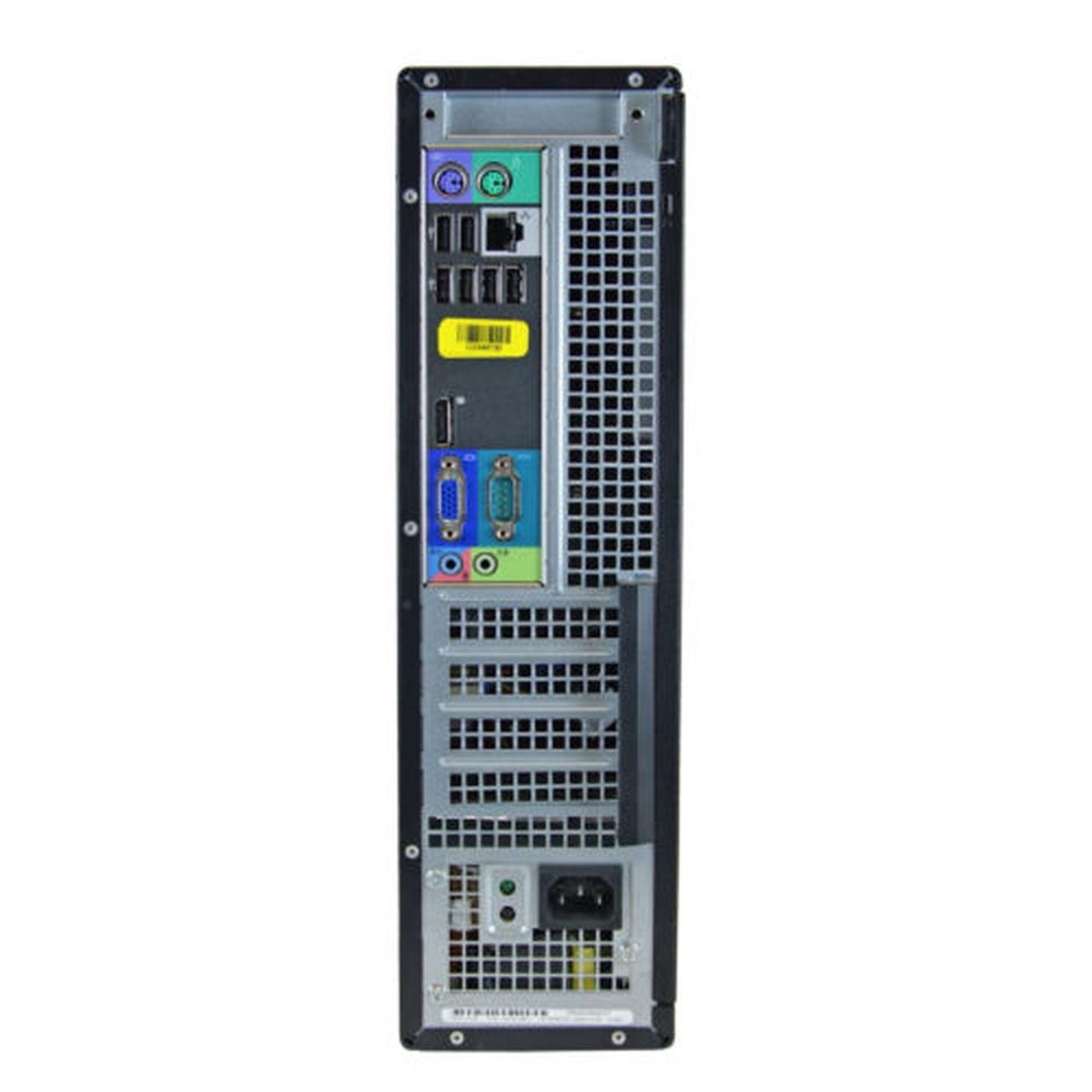 Dell OptiPlex 790 DT Core i7 3,4 GHz - SSD 480 GB RAM 8 GB