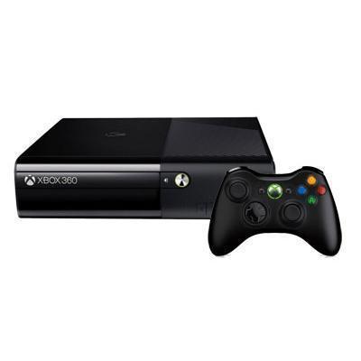Console Microsoft Xbox 360 E 250GB + controller - Zwart