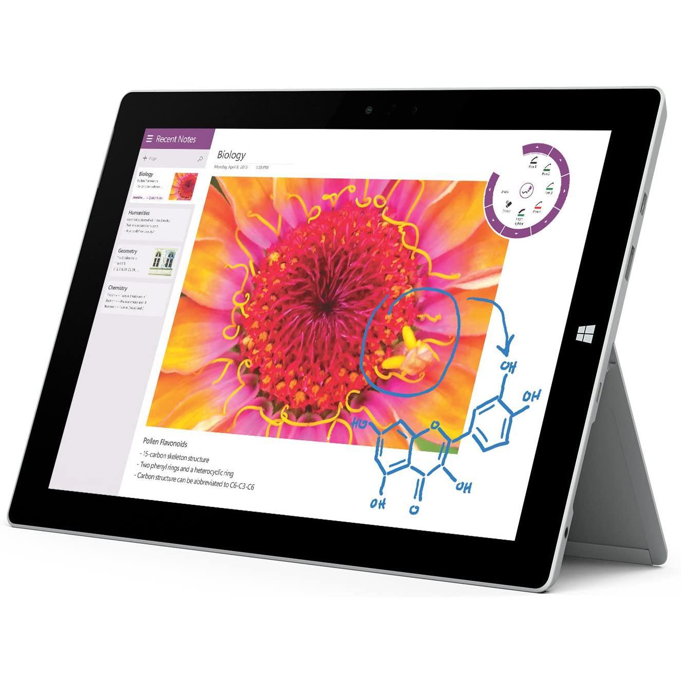 """Microsoft Surface 3 10"""" Atom x7 1,6 GHz - HDD 64 GB - 2GB"""